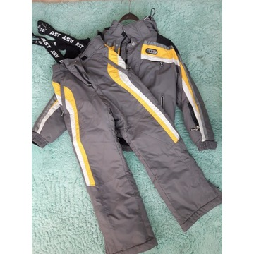 Kurtka i spodnie narciarskie męskie firma AST