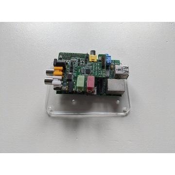 Raspberry Pi B + Wolfson Audio Card + obudowa