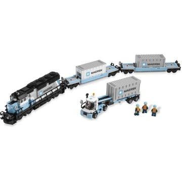 LEGO 10219 Maersk Train - pociąg - unikat