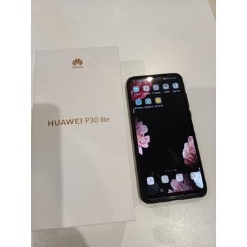 huawei p30 Lite 4/128GB, midnight black, zestaw !!