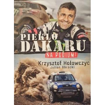 Piekło Dakaru Krzysztof Hołowczyc autograf  2018