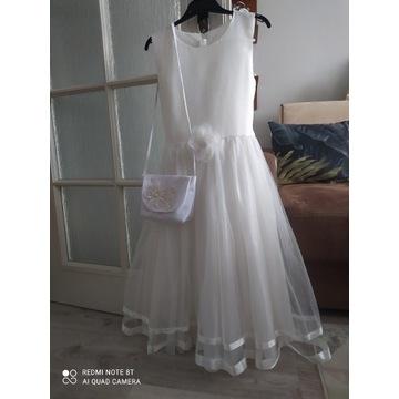 Sukienka komunijna 146cm