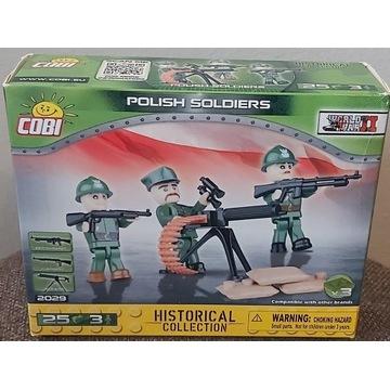 COBI 2029 POLISH SOLDIERS POLSCY ŻOŁNIERZE
