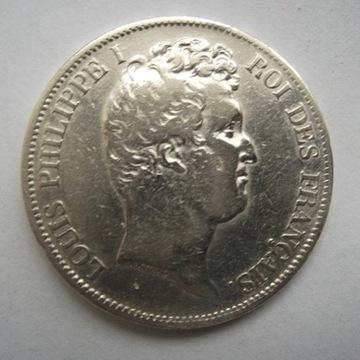 FRANCS - 5 - LOUIS PHILIPPE I - 1831 B