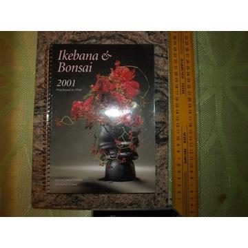 IKEBANA & BONSAI 2001 kultowy japoński kalendarz