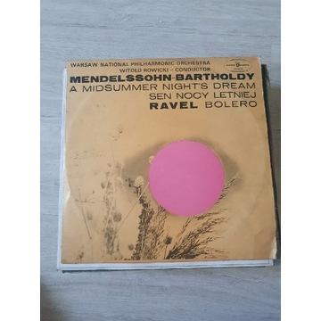 Mendelssohn Ravel Bolero Rowicki