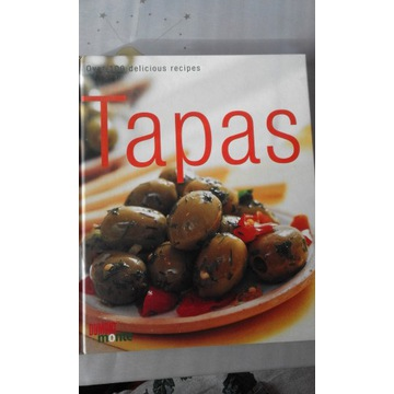 Ksiazka kulinarna Tapas