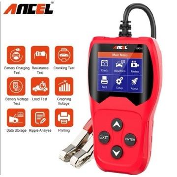 Tester akumulatorów Ancel BA201