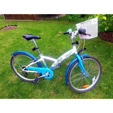 rower dziecięcy  z koszykiem, dla dziewczynki