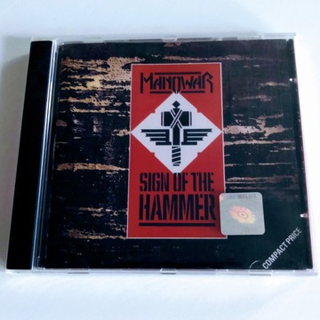 "MANOWAR - ""Sign Of The Hammer""  CD"