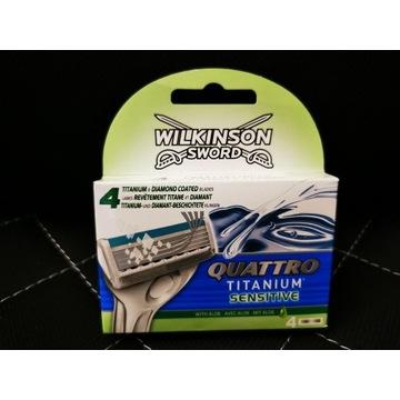 Wilkinson Sword Quattro Titanium Sensitive 4 wkład