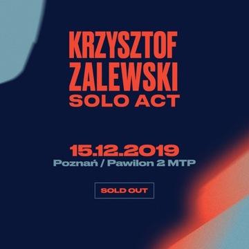 Bilet-y na Krzysztof-a Zalewski-ego -Poznań -15.12