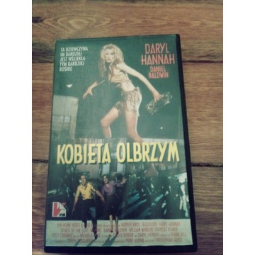 Kobieta olbrzym (Attack 50 foot woman) VHS VIM