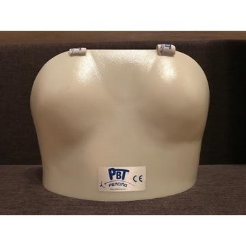 ochraniacz na biust szermierka - PBT rozmiar 1