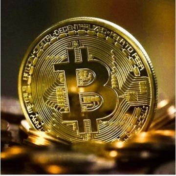 Moneta Bitcoin Kolekcjonerska UNIKATOWA,BTC