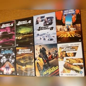 8x Film DVD+1 gratis/Szybcy i Wściekli