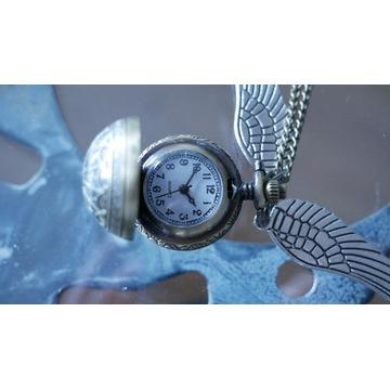 Zegarek znicz Harry Potter i medalion