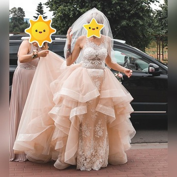 Suknia Ślubna MADONNA  2 w 1