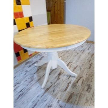 Stół z okrągłym blatem