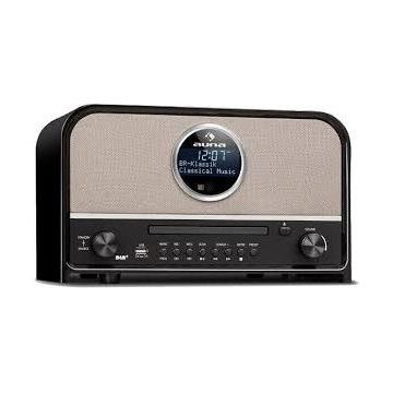 Radio sieciowe AM, DAB+, FM Auna Columbia 60W USB