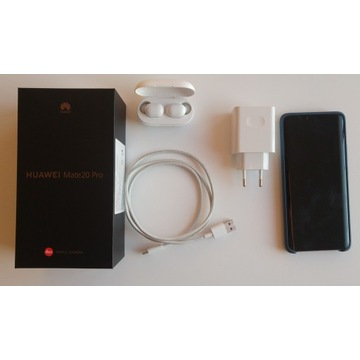 Huawei Mate 20 Pro + słuchawki