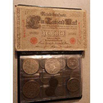 Klaser 120 szt różnych monet