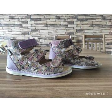 Buty skórzane,  profilaktyczne Rena roz. 28