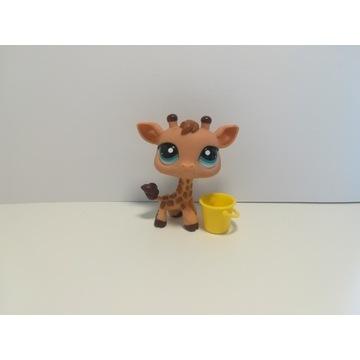 Figurki lps kolekcjonerskie Little pet shop żyrafa