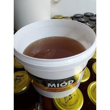 Miód w wiaderku wiadro 4kg od pszczelarza