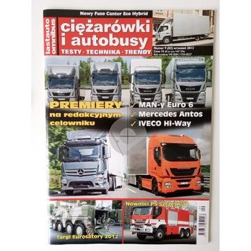 Magazyn Ciężarówki i autobusy Nr 9 Wrzesień 2012