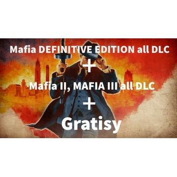 Mafia DEFINITIVE EDITION konto VIP +DLC + 500 gier