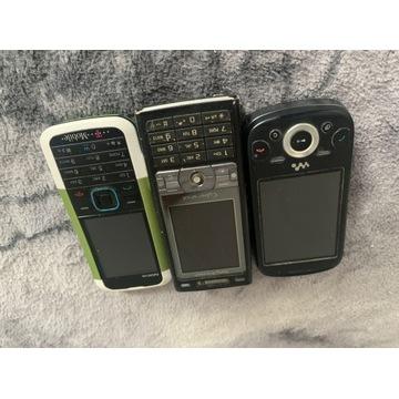 Stare telefony  działają