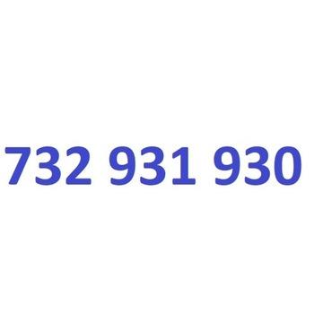 732 931 930 starter play ładny złoty numer