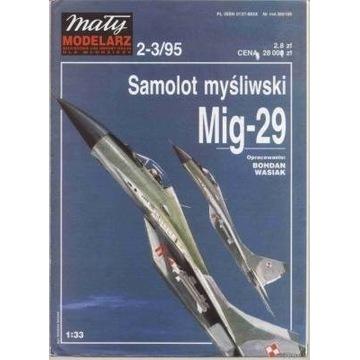 MM 2-3/95 Samolot myśliwski MIG-29