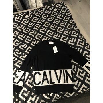 Nowy sweter z metka Calvin Klain