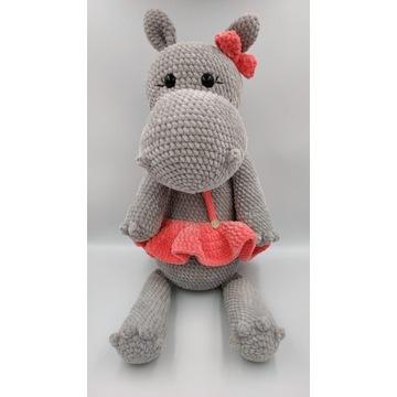 Hipopotam na szydełku, rękodzieło