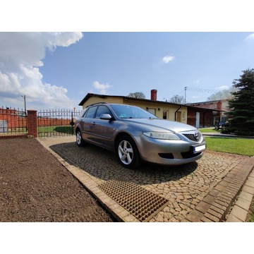 Mazda 6 Kombi 2002r. 2.0 Diesel 121 KM