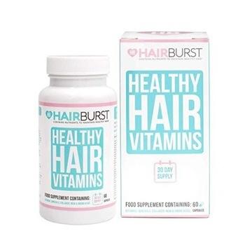 Hairburst kuracja do włosów na 30 dni -60 kapsułek