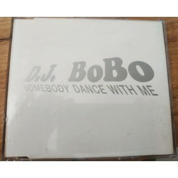 DJ BOBO - SOMEBODY DANCE WITH ME REMIX unikat!