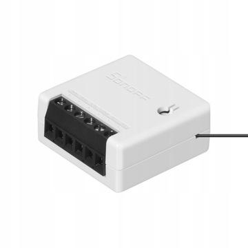 Sonoff Mini smart home switch dopuszkowy WiFi 10A