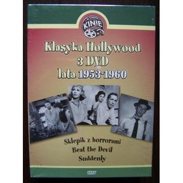 W Starym Kinie 3 DVD 1953/1960 nowe Sklepik z horr