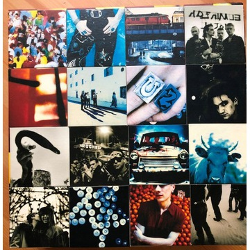 """U2 Achtung Baby Uber Deluxe box + okulary """"Fly"""""""