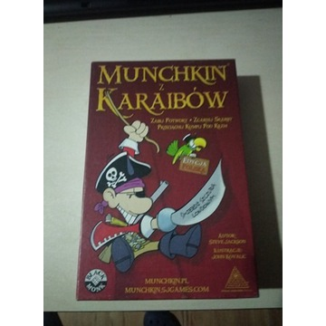 Munchkin Piraci z Karaibów + dodatek