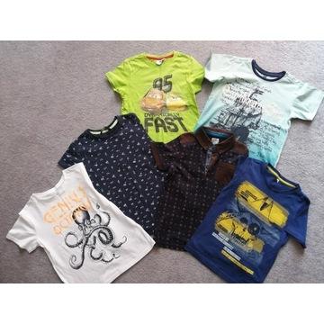 6 t-shirtów chłopięcych