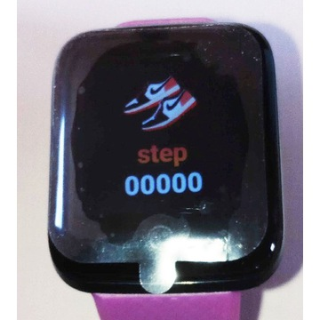 Smartwatch D20 tętno ciśnienie kroki