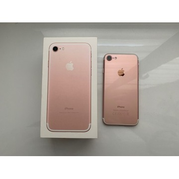 Apple iPhone 7 256 gb rose gold (bateria 100%)