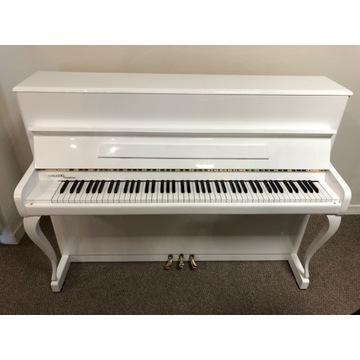 Pianino Malmsjo białe , Wawa, w bdb stanie