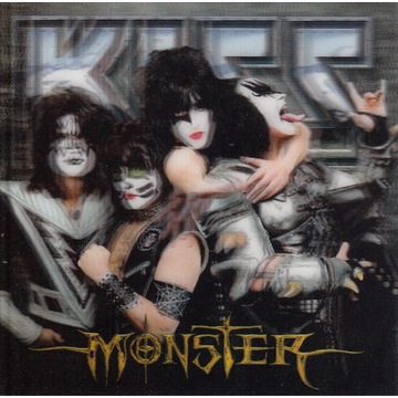 Kiss - Monster  - 2012 - 3D okładka unikat rarytas