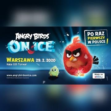 PILNE 6 biletów na Angry Birds on Ice strefa VIP
