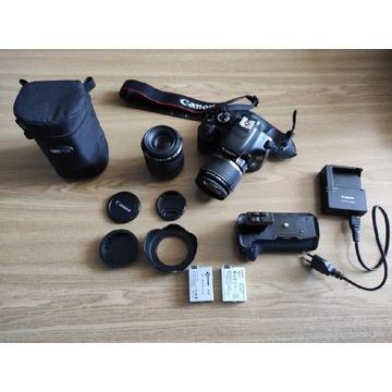 Canon EOS 550D plus dodatki